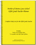 05 - Teacher Planner 5th Grade