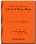 06 - Teacher Planner 6th Grade